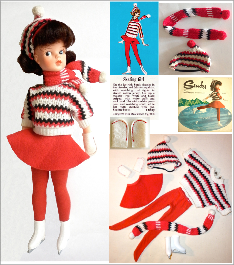 Sindy Ice Skater circa 1964 photo by Claire Wilcox