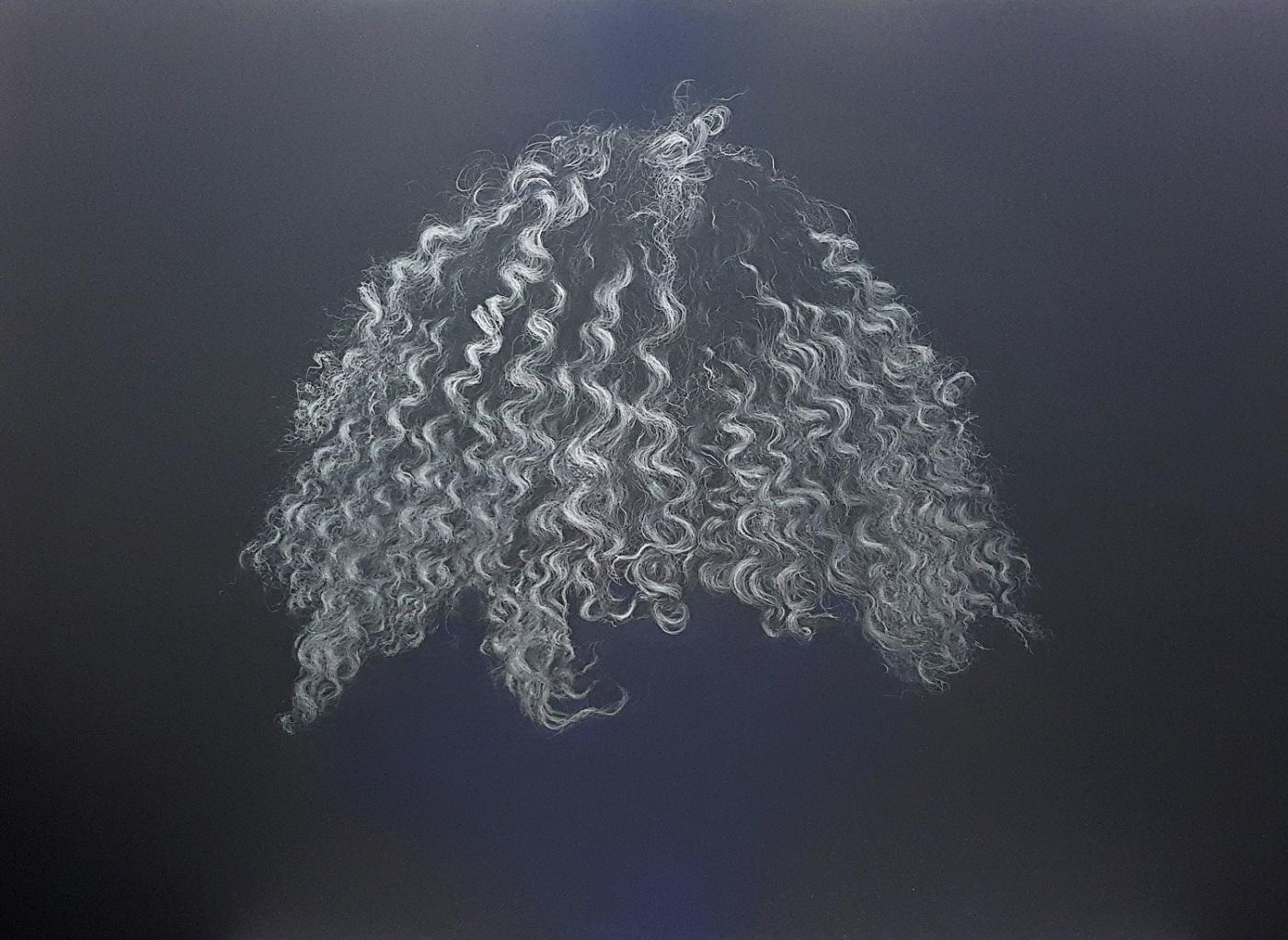 Jo Lane graphite sketch Wimbledon