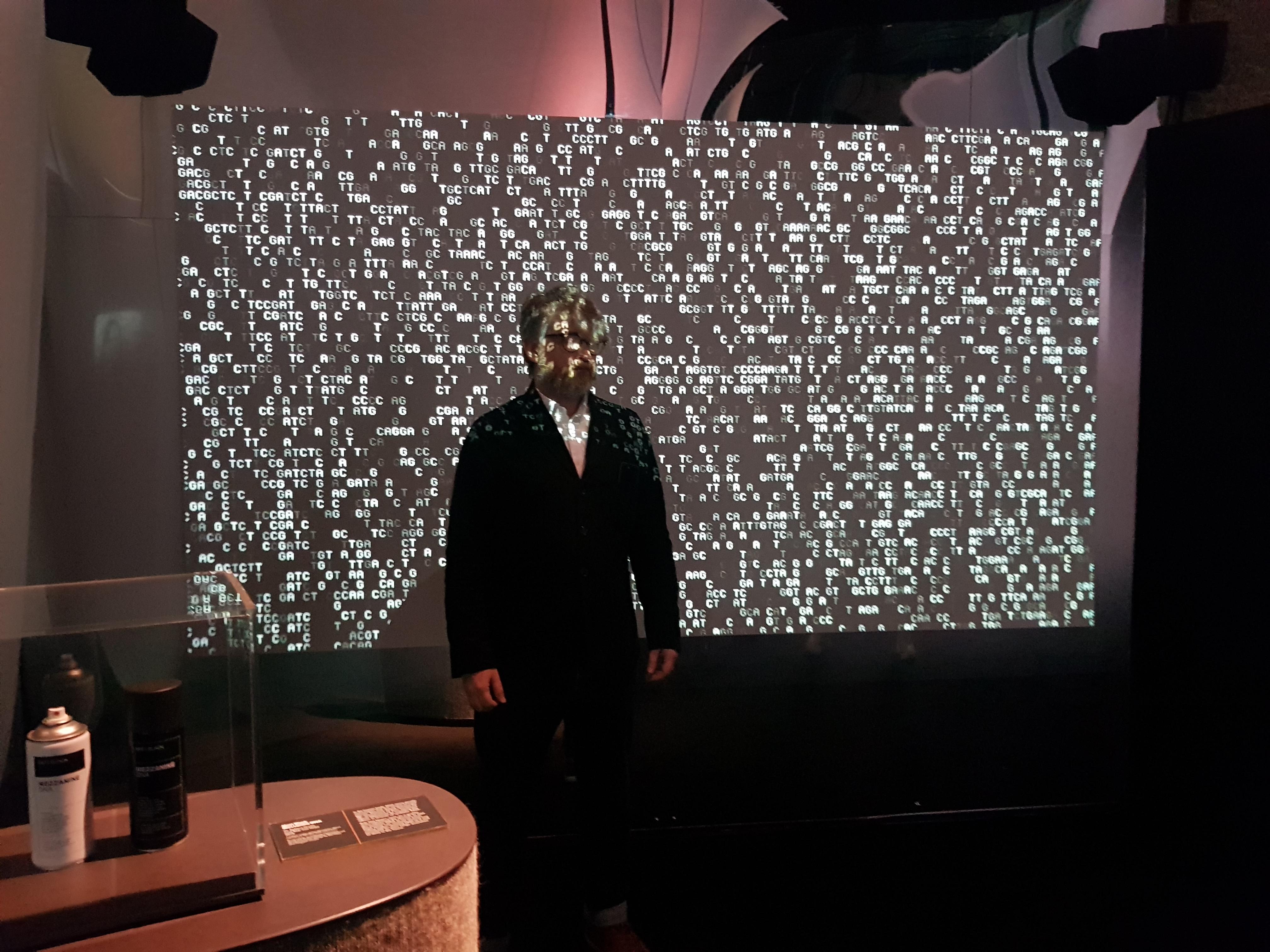 Professor Mick Grierson, UAL CCI at the Barbican. Mezzanine vs MAGNet