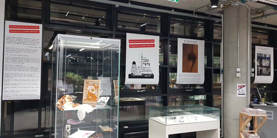 exhibition at Camberwell library