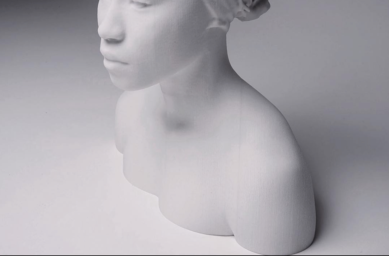 A new installation of 3D lenticular prints by Rayvenn Shaleigha D'Clark